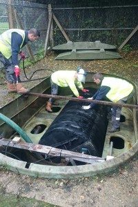 Sewage Treatment Plant Servicing - Lemon Drainage Services